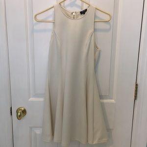Bardot Skater White Dress